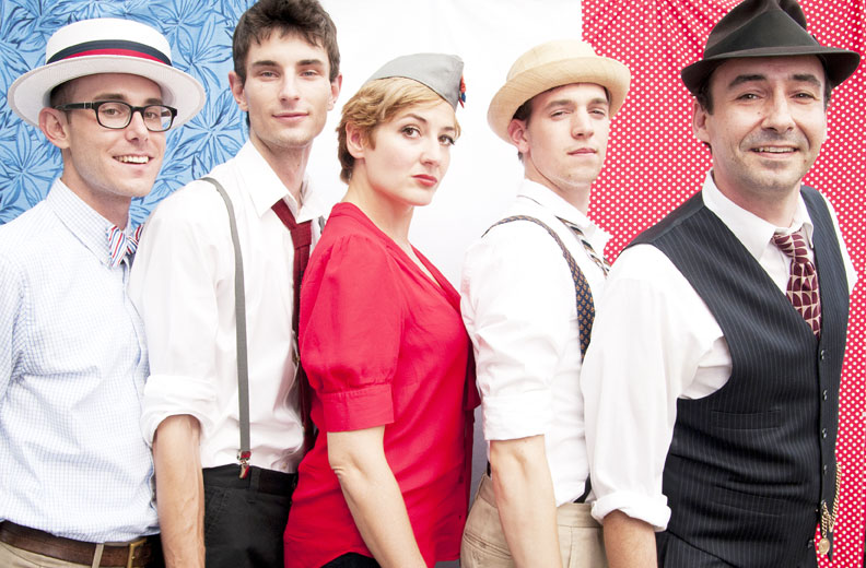 The Hot Sardines at The Skint's Bastille Day Spectacular, 2012