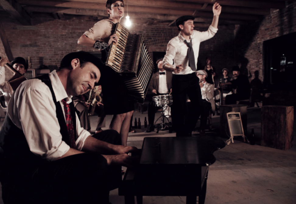 The Hot Sardines as photographed by Harry Fellows for Collective Magazine